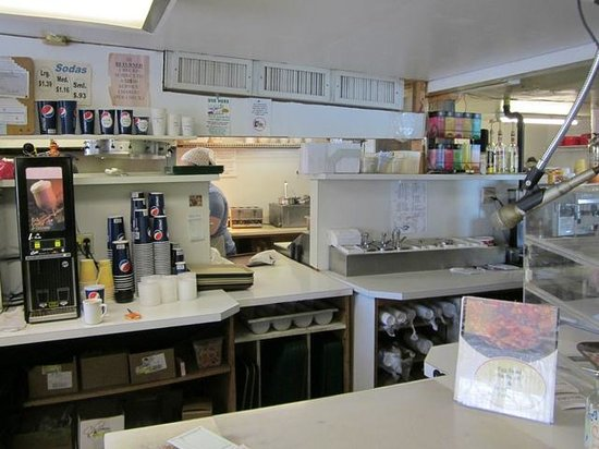 Vic's Drive Inn : Kitchen Area
