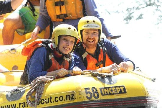 Raftabout Rotorua: A very happy couple!