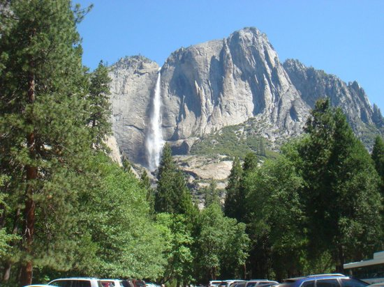 Yosemite Valley Lodge: One of the many beautiful falls