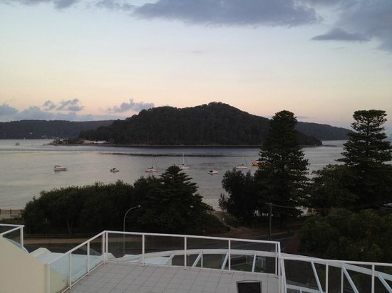 Mantra Ettalong Beach: view from the balcony