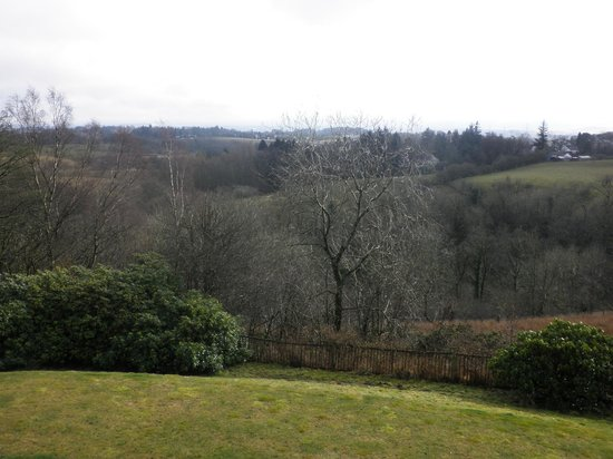 Carnbooth House Hotel: View From The Hazel Room
