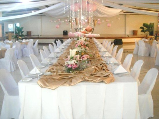 Villa Maria Luisa Hotel: wedding reception