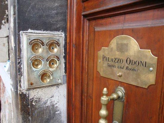 Palazzo Odoni: Eingang