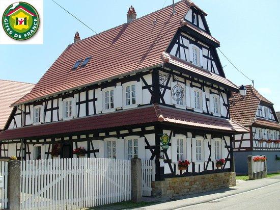 Maison des Gîtes Ungerer : Maison principale