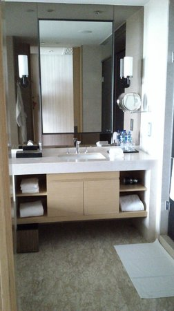 Hyatt Regency Hong Kong, Sha Tin: Bathroom from door