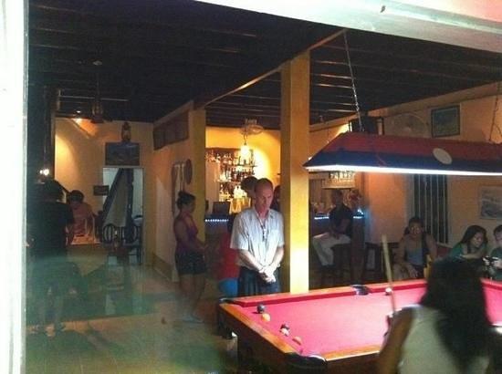 Redbul Bar: interior shot
