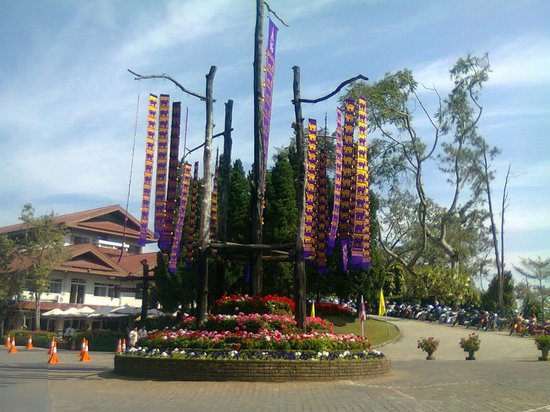 Chiang Rai Province, Thailand: Tung mountain, to visit botanic garden, hall of inspiration and mother of the king palace.