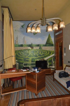 Hotel Saturnia & International: Chambre 203