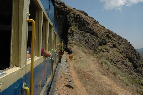 Nilgiri Mountain Railway: Train Entering a Tunnel