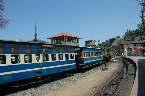 Nilgiri Mountain Railway: Coonoor Railway Station