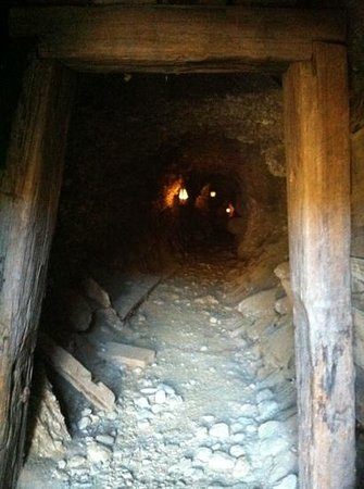 Goldfields Mining Centre: down the mine - you can't enter