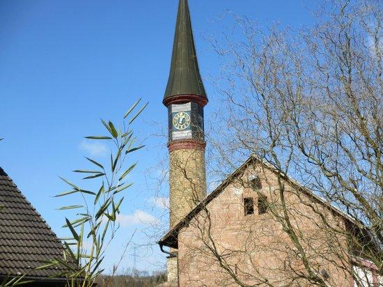 Kurfürstliches Schlosshotel Weyberhöfe: Glockenturm des Schlosses