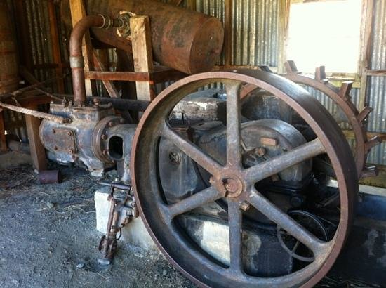Goldfields Mining Centre: some of the old equipment