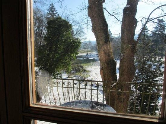 Schlosshotel Weyberhöfe: Balkon und Park