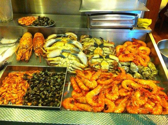Casarao do Castelo: Seafood selection