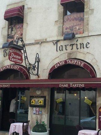 Restaurant Dame Tartine : Façade du restaurant