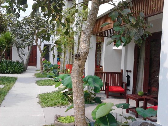 Hoi An Chic Hotel : Chambres rdc