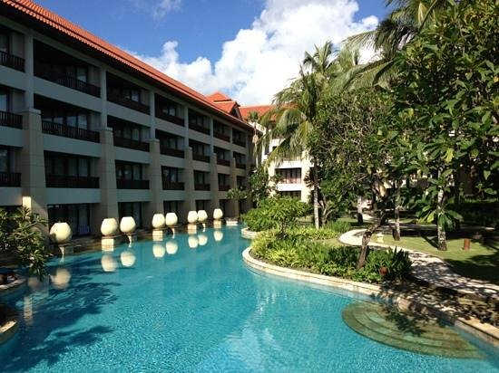 Conrad Bali: lagoon access room