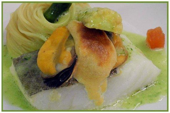 Cal Bisbe Restaurant: Vieiras