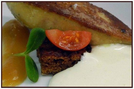 Cal Bisbe Restaurant: Foie