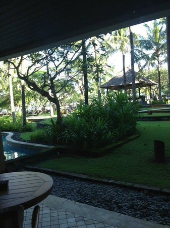 Conrad Bali: View from ground floor room