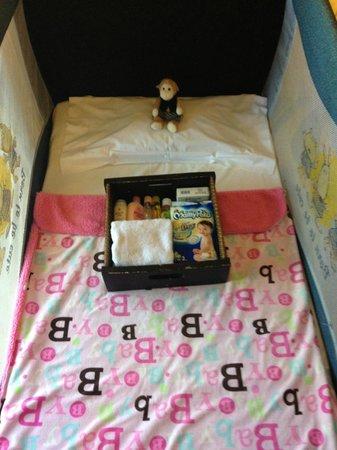 Conrad Bali: Complimentary baby amenities