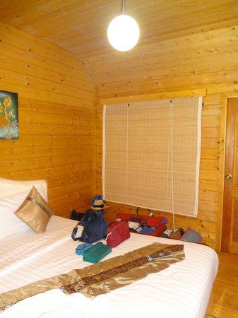Log Home Boutique Hotel: Intérieur de la chambre