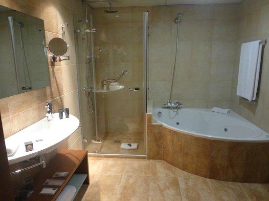 AC Hotel Carlton Madrid : whirlpool bath