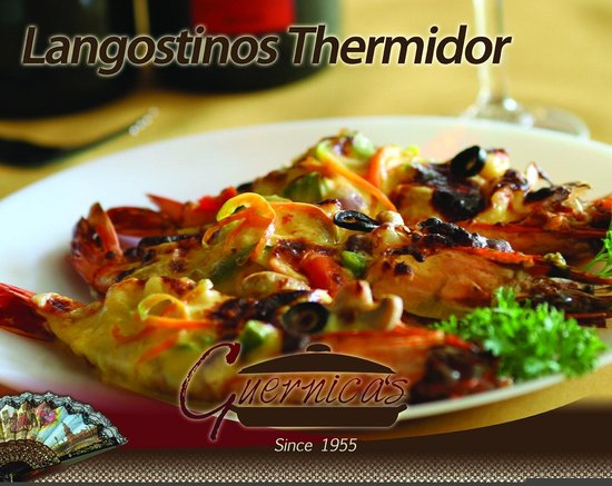 Guernica's Restaurant : Thermidor