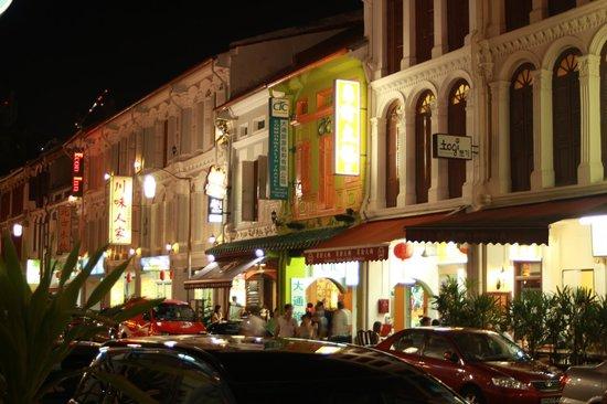 Econ Inn : Fassade Mosque Street