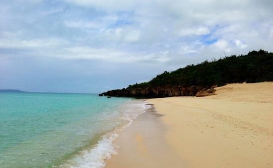Nagamahama Beach Coast: 来間島の穴場、というより宮古島一の浜かも