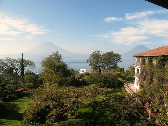 Hotel Atitlan: View from the room