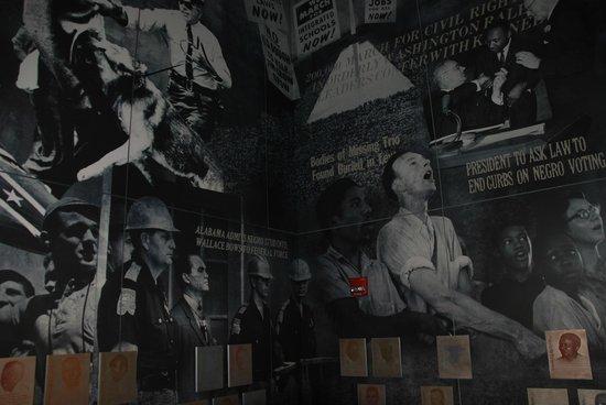 Civil Rights Memorial: Inside the museum