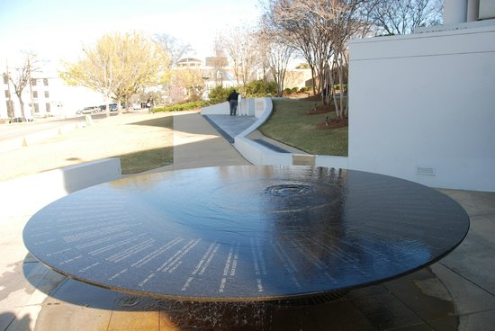 Civil Rights Memorial: The monument