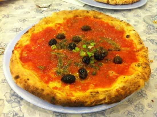 Da Gaetano: pizza siciliana buonissima e super leggera!