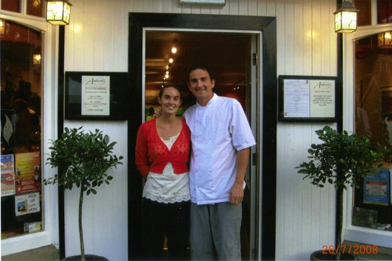 Anderson's Restaurant: Steve and Claire Andersons