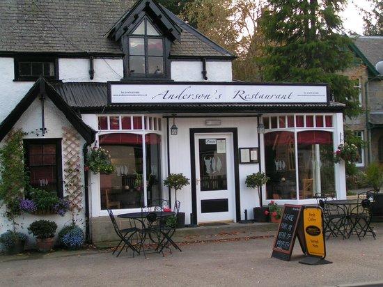 Anderson's Restaurant : Andersons, Boat of Garten