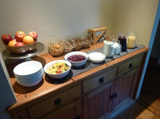 Holly Homestead B&B: La prima colazione