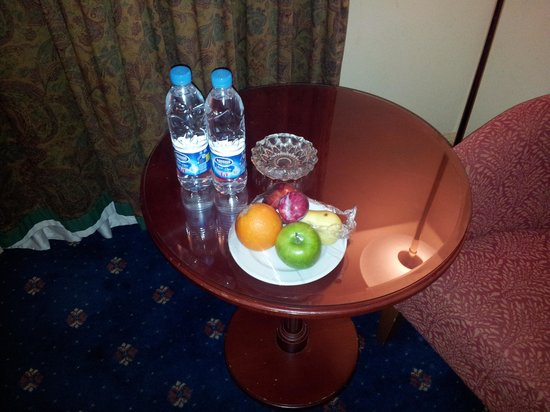 InterContinental Madinah-Dar Al Iman : welcome basket of fruits