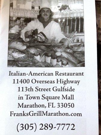 Frank's Grill: Find Franks!!