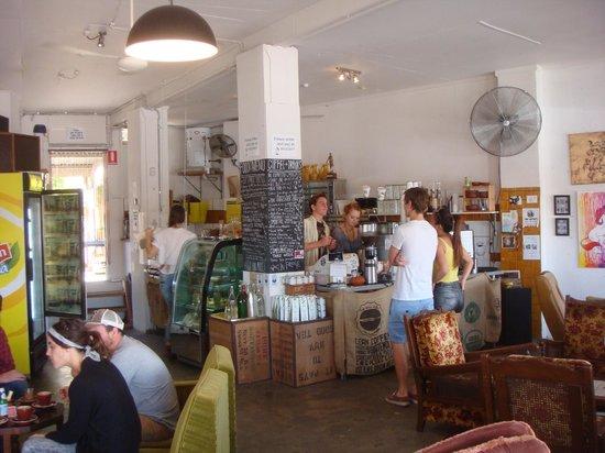 The Glass Onion Society: Cafe interior
