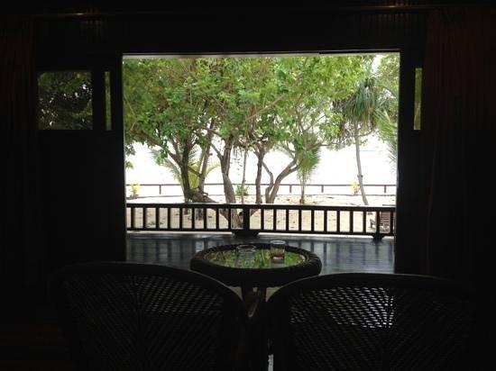 Pom Pom Island Resort & Spa: veranda