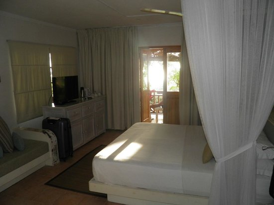 Indian Ocean Lodge: chambre