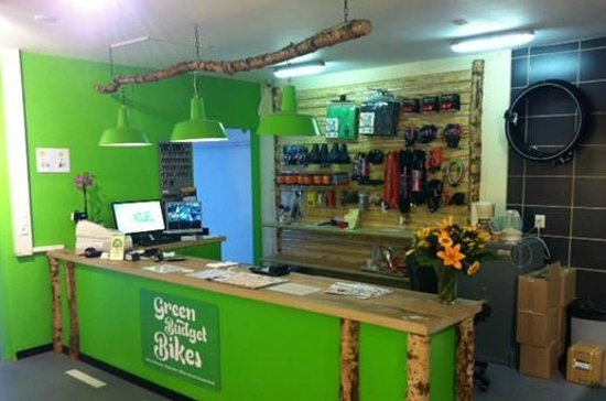 Green Budget Bikes: Our store in Leidseplein