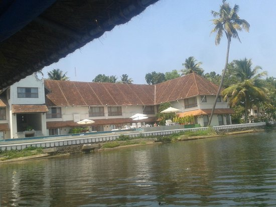 Lemon Tree Vembanad Lake Resort: View of the Hotel from the Lake