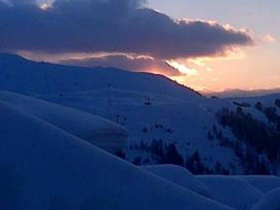 Montagnettes, Le Chalet du Vallon : Belle Plagne Sunset