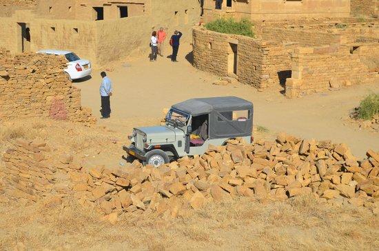 Residency Centre Point Guest House and Desert Safari: durante l'uscita per il deserto