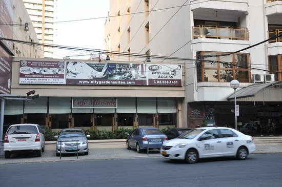 Hotel Front Picture of City Garden Suites Manila TripAdvisor