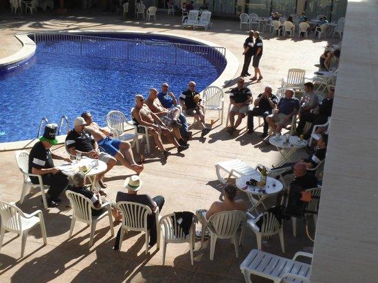Agua Azul Hotel : Pool