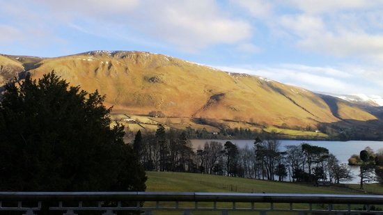 Macdonald Leeming House, Ullswater: View from Room 6 - late Saturday afternoon